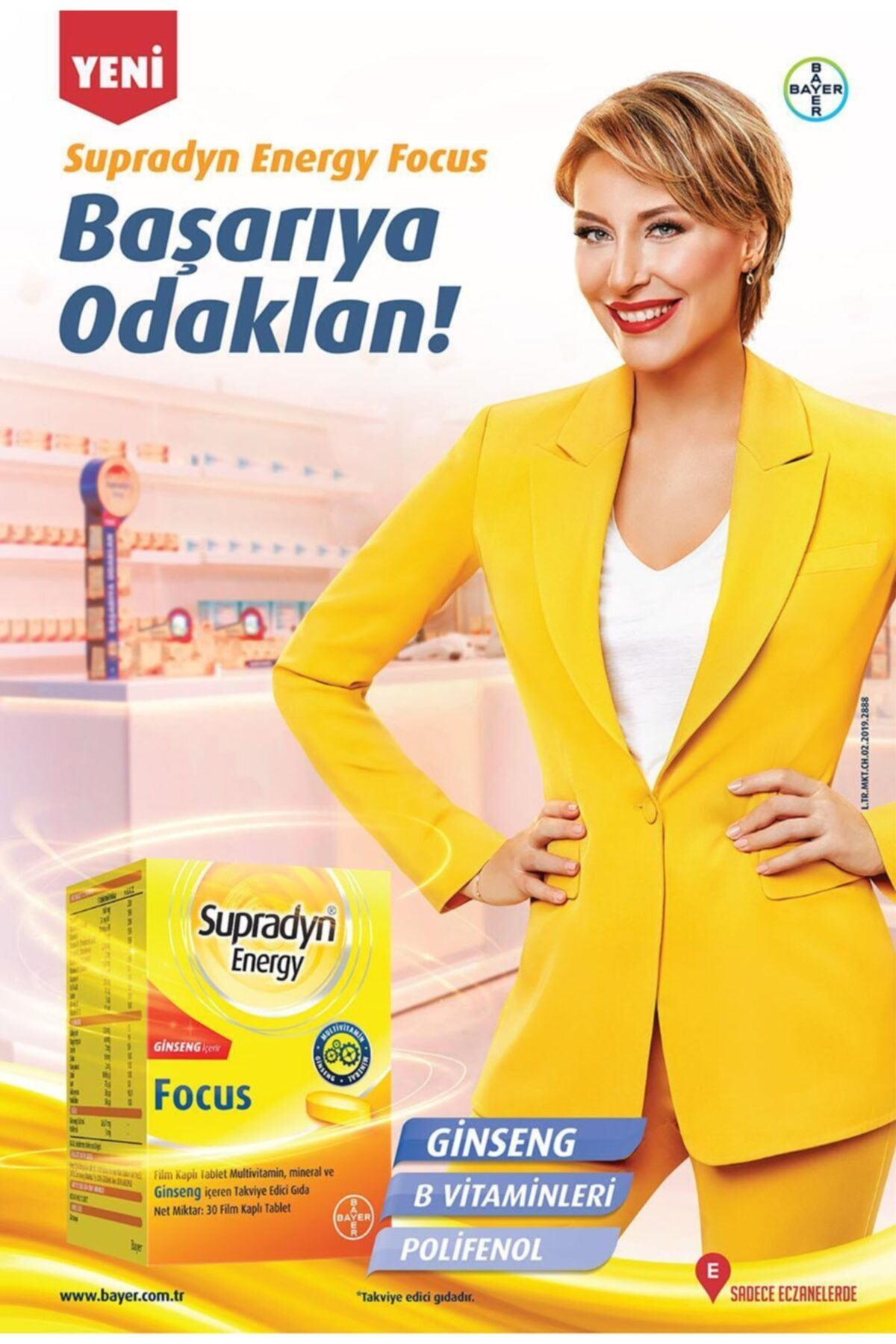 Supradyn Energy Focus 30 Tablet 2
