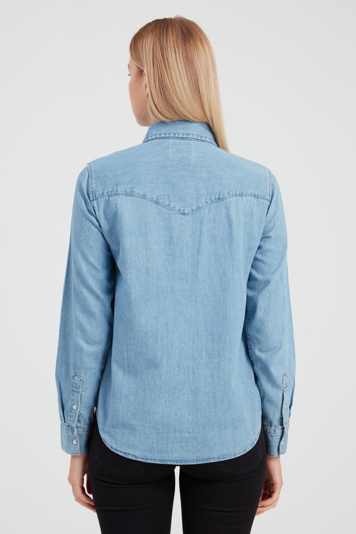 Levi's Kadın Mavi Gömlek 86832-0001 2