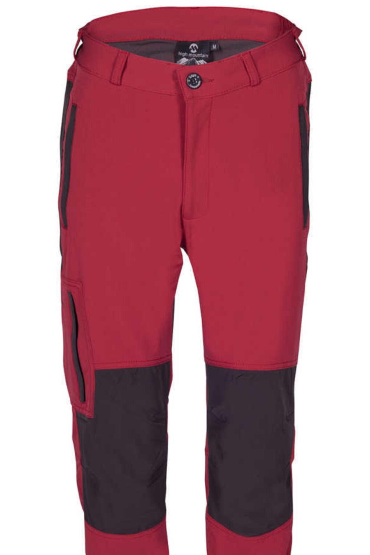 High Mountain Nepal Pantolon Kırmızı/antrasit 2