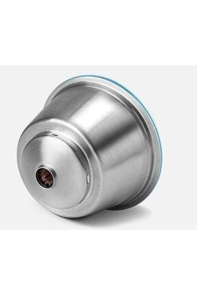 Capsulone Dolce Gusto Uyumlu Doldurulabilir Kahve Kapsülü çelik