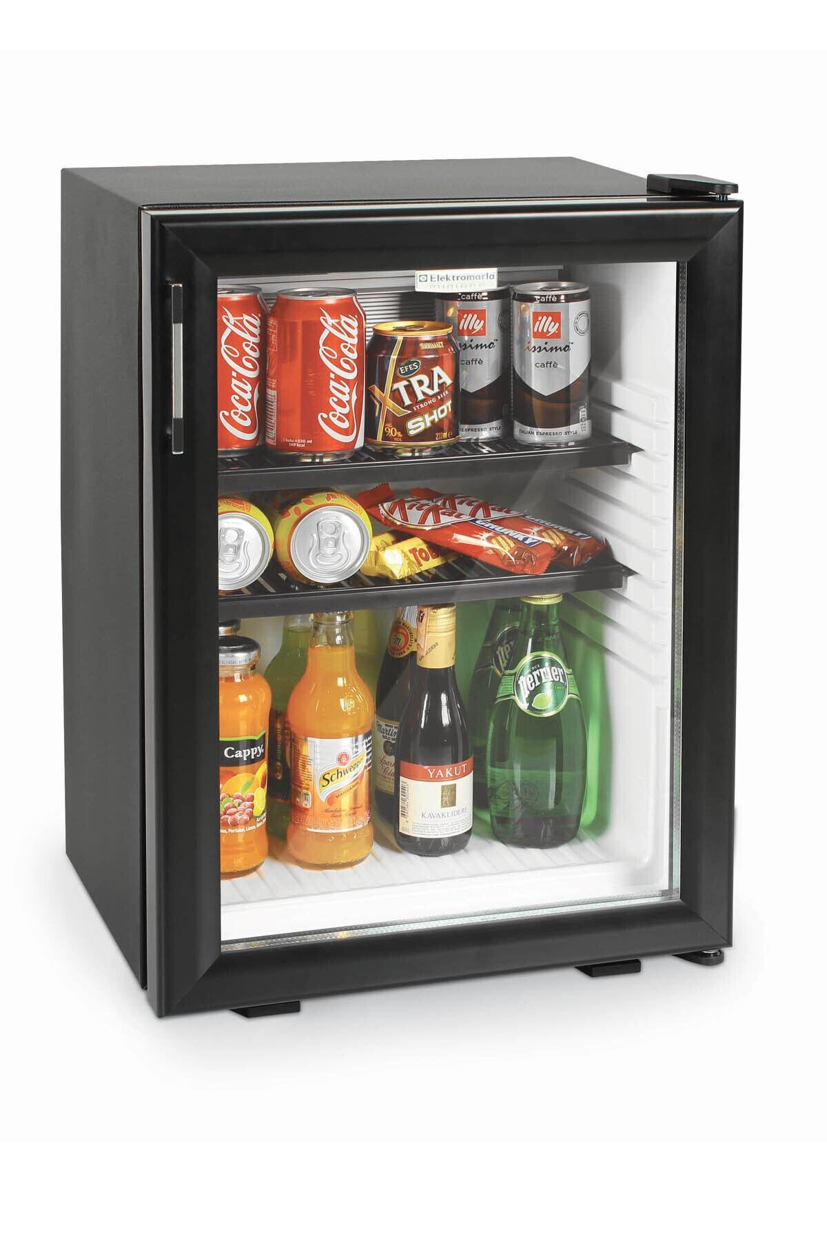 Elektromarla Siyah Cam Kapılı Minibar - Drc 35 lt 1