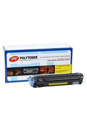 HP Q6002a (124a) Polytoner Sarı Laserjet 1600-2600-cm1015-1017mfp-lbp5000-5100