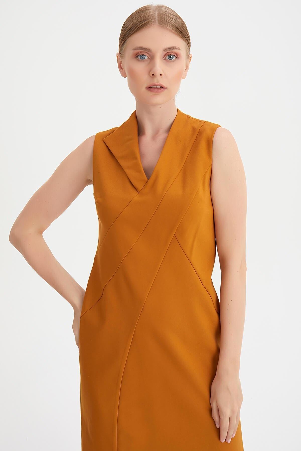 Chima Yaka Detaylı Elbise 2
