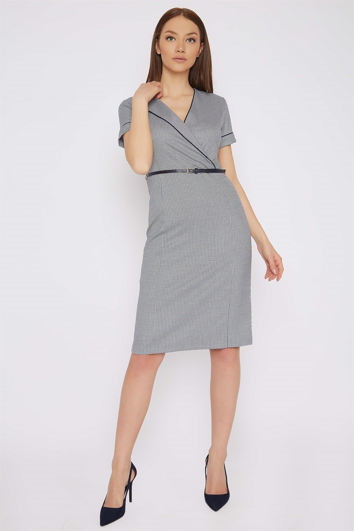 Chima Kemerli Elbise 1