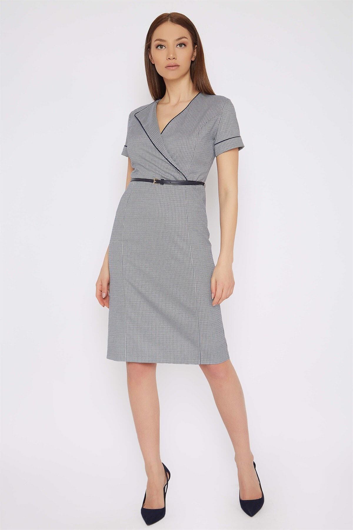 Chima Kemerli Elbise 2