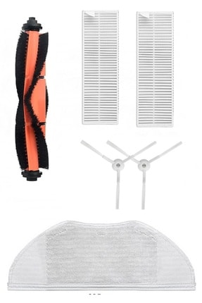 Robovac Mi Robot Vacuum Mop 2in1 Essentials Uyumlu Yenileme Seti (7 Parça)