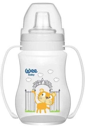 Wee Baby Unisex Bebek Akıtmaz Kulplu Pp Alıştırma Bardağı (Anti-colic)-754