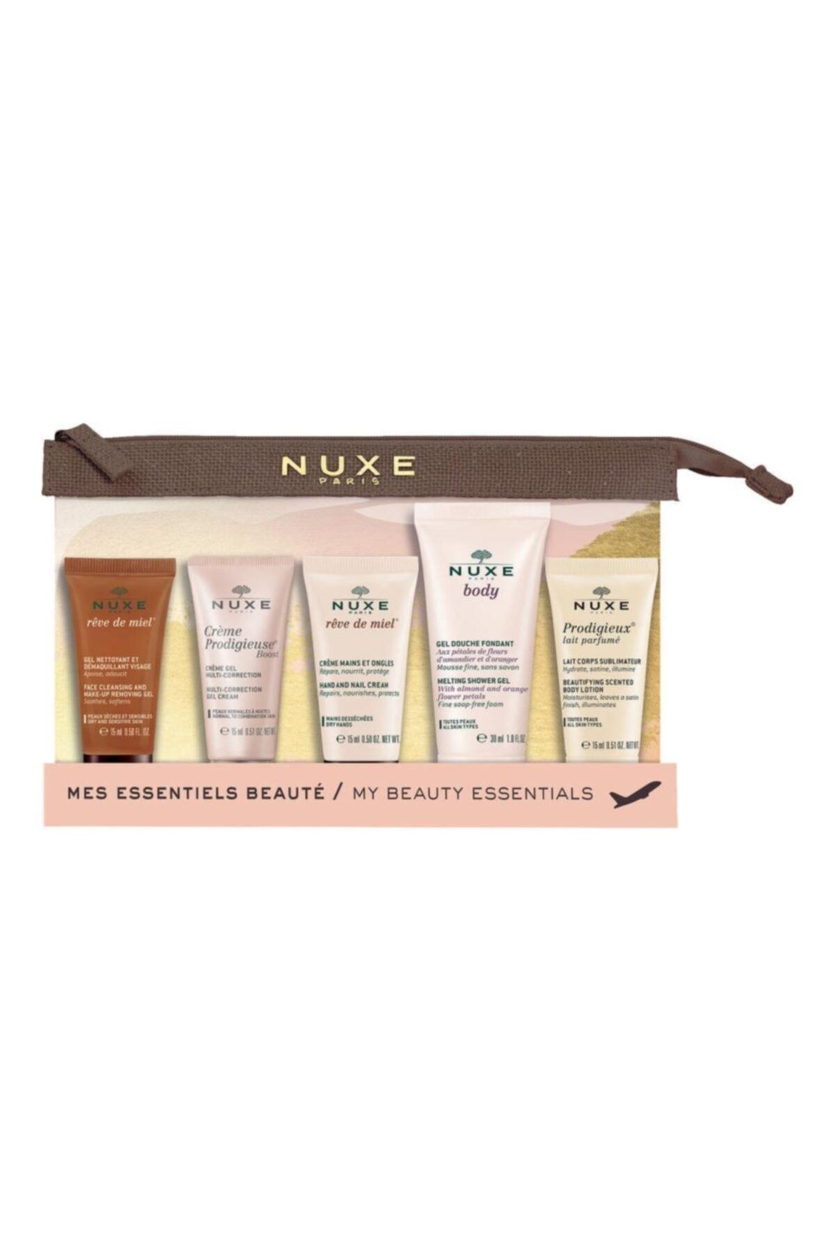 Nuxe My Beauty Essentials Travel Kit - Seyahat Bakım Kiti 1