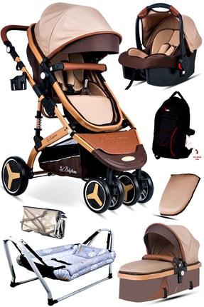 Baby Home 7'in1 Yeni Doğan Set 945 Paris Travel Sistem Bebek Arabası Hamak Beşik