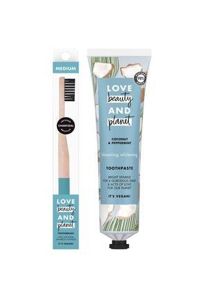 Love Beauty and Planet Hindistan Cevizi Yağı & Nane Yağı Içeren Diş Macunu 75 ml & Yumuşak Fırça
