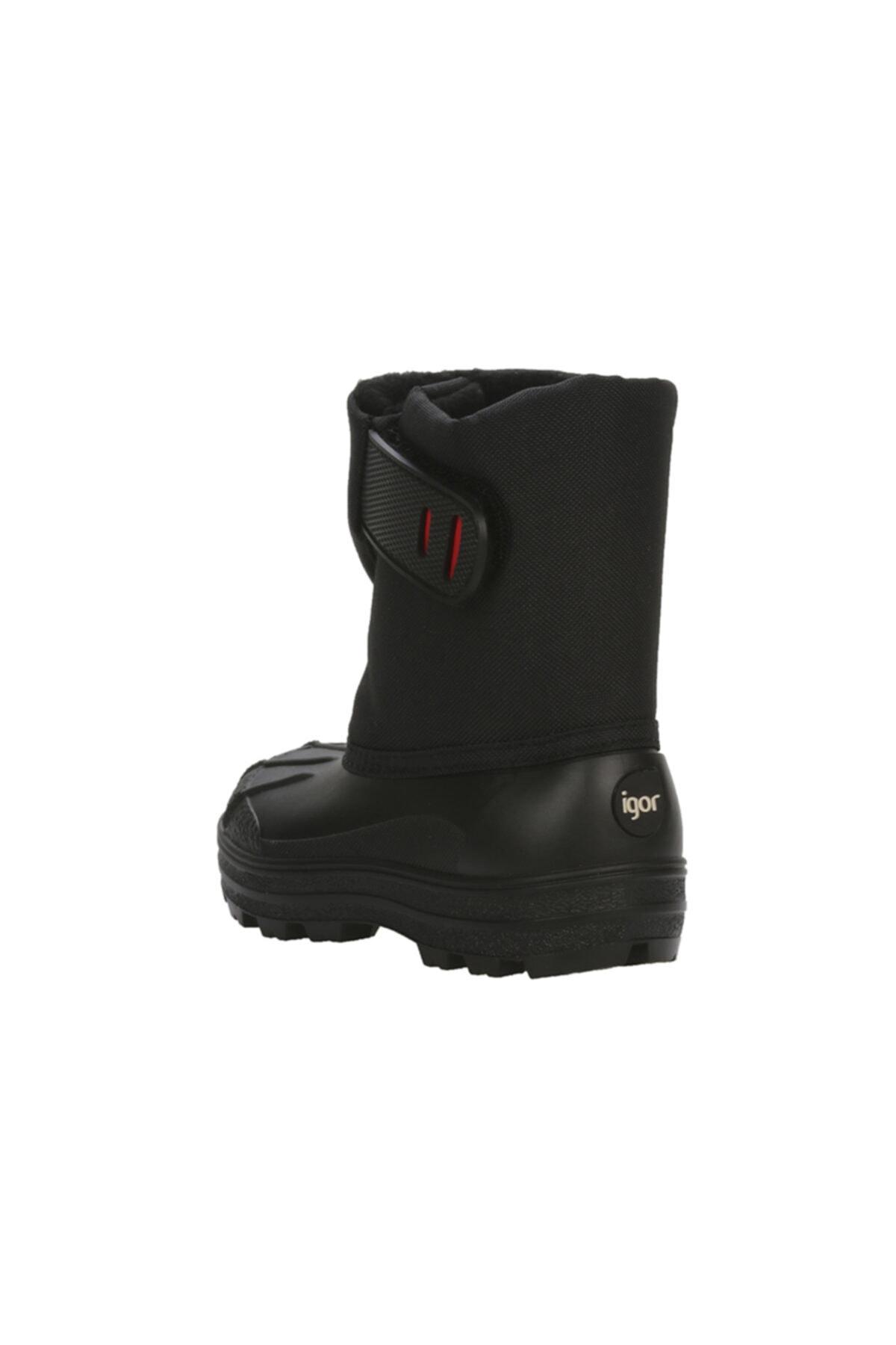 IGOR Kız Çocuk Siyah Snow Içi Yünlü Kar Botu W10175 1