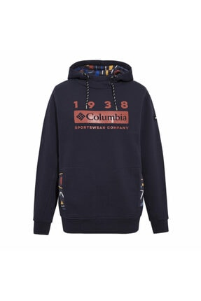 Columbia Kadın Lacivert Lodge Hoodie Sweatshirt Cs0102-472
