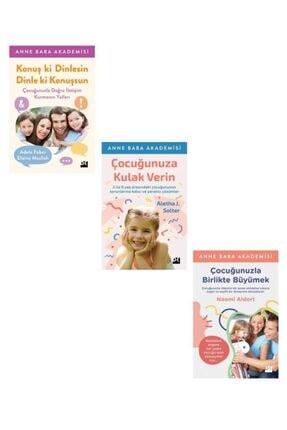 Doğan Kitap Çocuğunuza Kulak Verin + Konuş Ki Dinlesin + Çocuğunuzla Birlikte Büyümek Set 3 Kitap