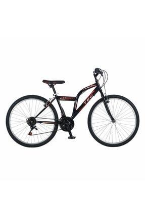 TEC Siyah Kırmızı Strong 21 Vites 24 Jant Bisiklet