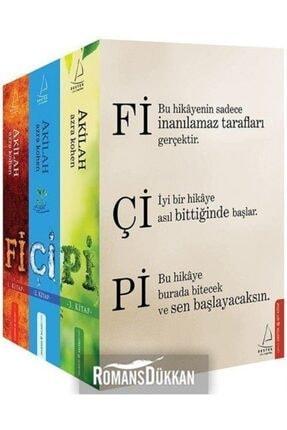 Destek Yayınları Akilah Azra Kohen Set 3 Kitap Takım Kutulu