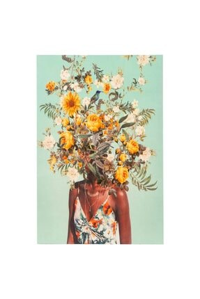 Mudo Concept Fall Flowers Kanvas Tablo 60x90cm