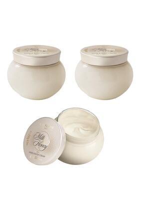 Oriflame Milk & Honey Gold Besleyici El & Vücut Kremi - 3'lü Paket
