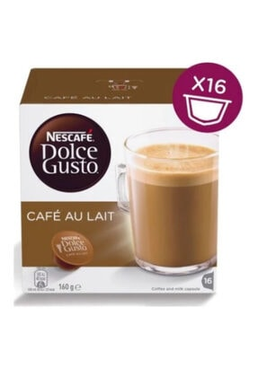 Nescafe Dolce Gusto Cafe Au Lait Kapsül Kahve 16'lı %100 Arabica