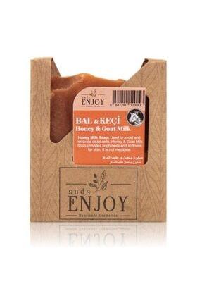 Enjoy Doğal Bal & Keçi Sütü El Yapımı Yüz, Saç Ve Vücut Sabunu
