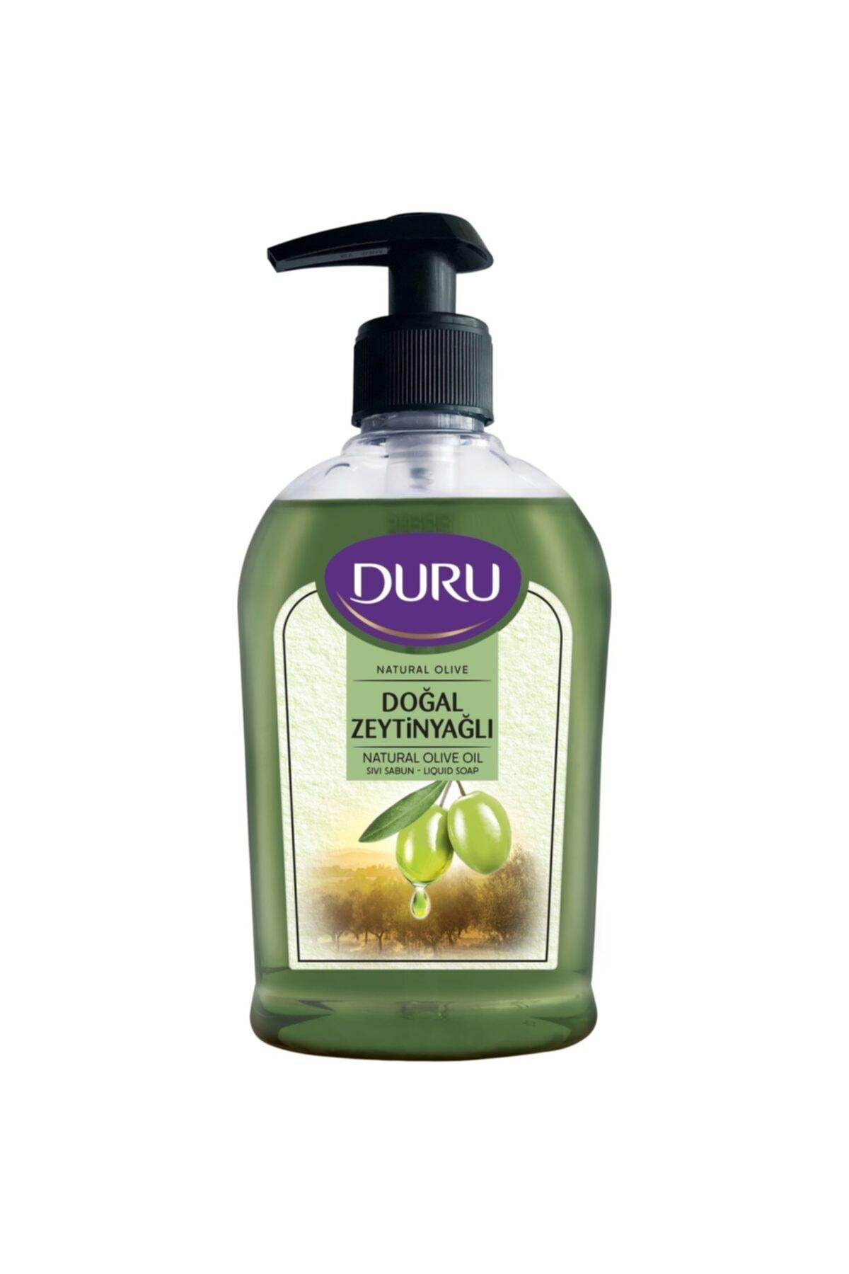 Duru Natural Olive Zeytinyağlı Sıvı Sabun 300 ml 1