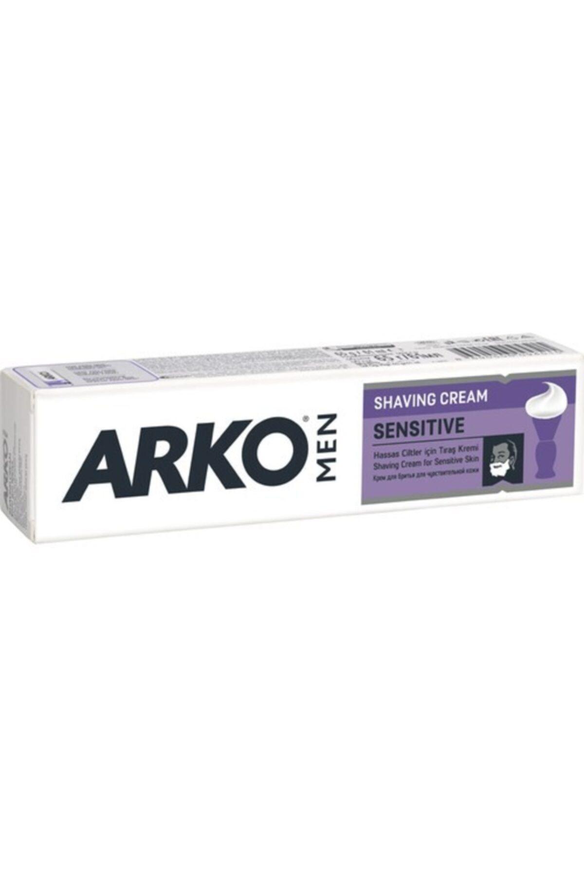 ARKO Tıraş Kremi Sensitive 100 ml Hassas Ciltler İçin 1