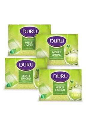 Duru Fresh Sensations Misket Limonu 16 Adet Duş Sabunu 4x600gr