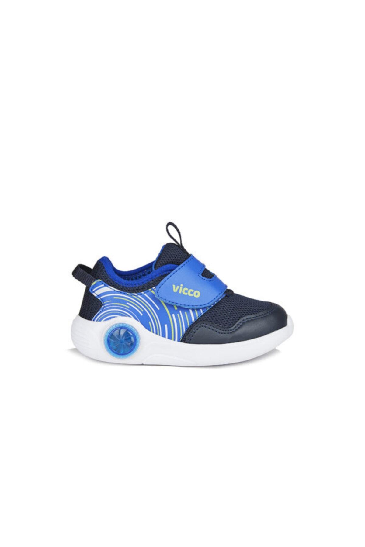 Vicco Jojo Erkek Çocuk Lacivert Spor Ayakkabı 2