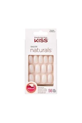Kiss Renksiz Takma Tırnak Seti Tırnak Yapıştırıcılı - Ksn01c - 731509659955
