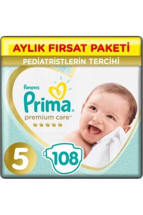 Prima Bebek Bezi Premium Care 5 Beden 108 Adet Aylık Fırsat Paketi