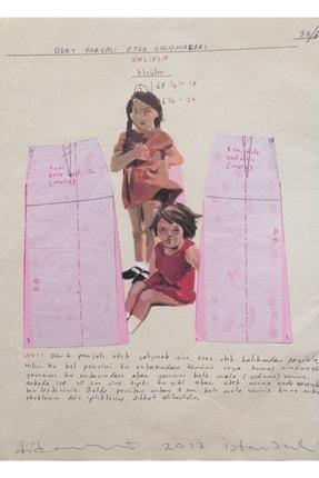 artoloji Didem Ünlü,Kardeşler,Kağıt üzerine karışık teknik,22x29cm