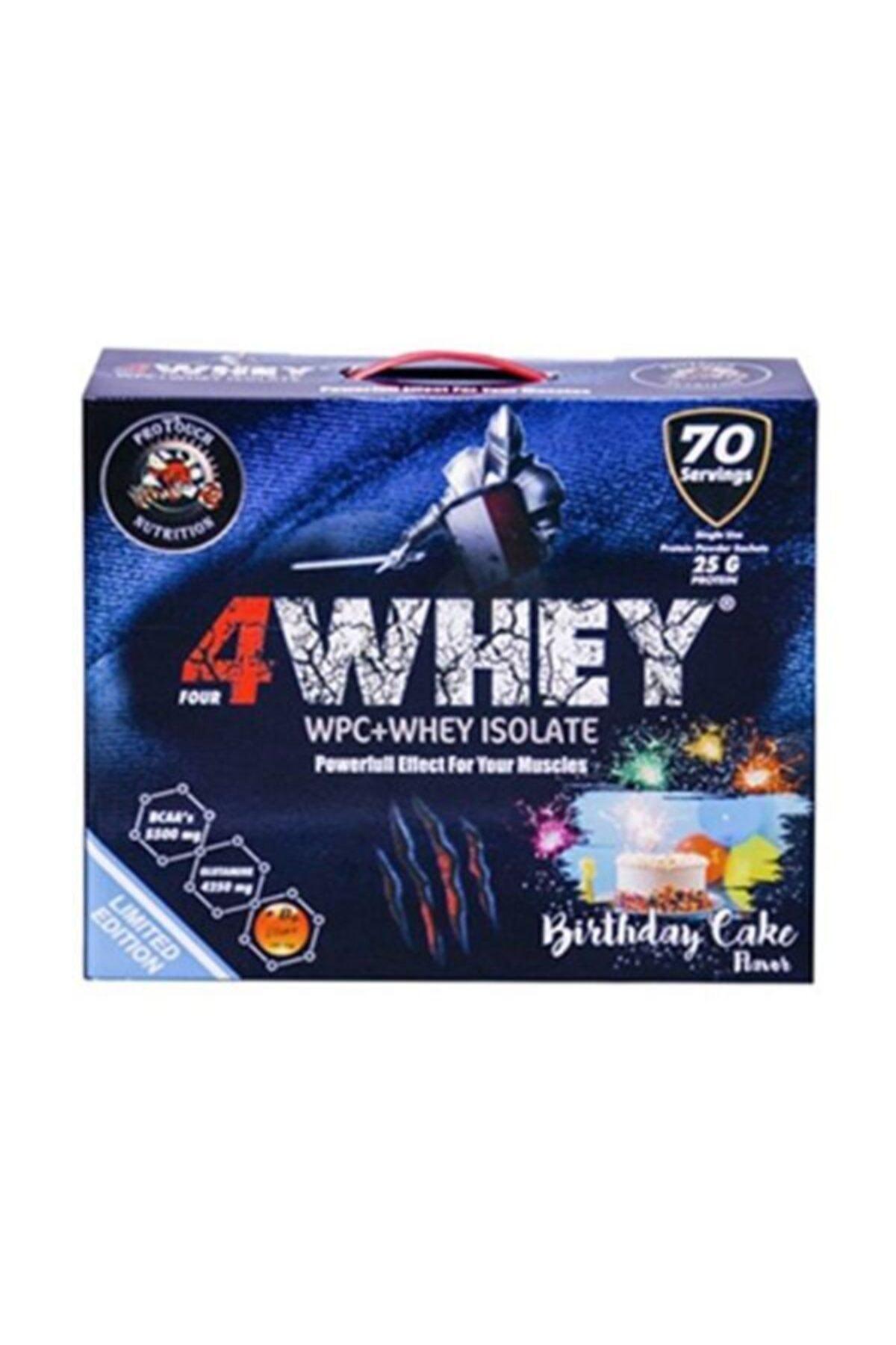 Protouch Nutrition Doğum Günü Pasta Aromalı 4whey Limited Edition 2450 gr 1