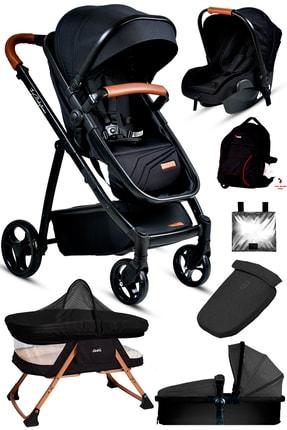 Baby Home Yenidoğan 7'in1 Set 955 Travel Sistem Bebek Arabası Anne Yanı Sepet Beşik