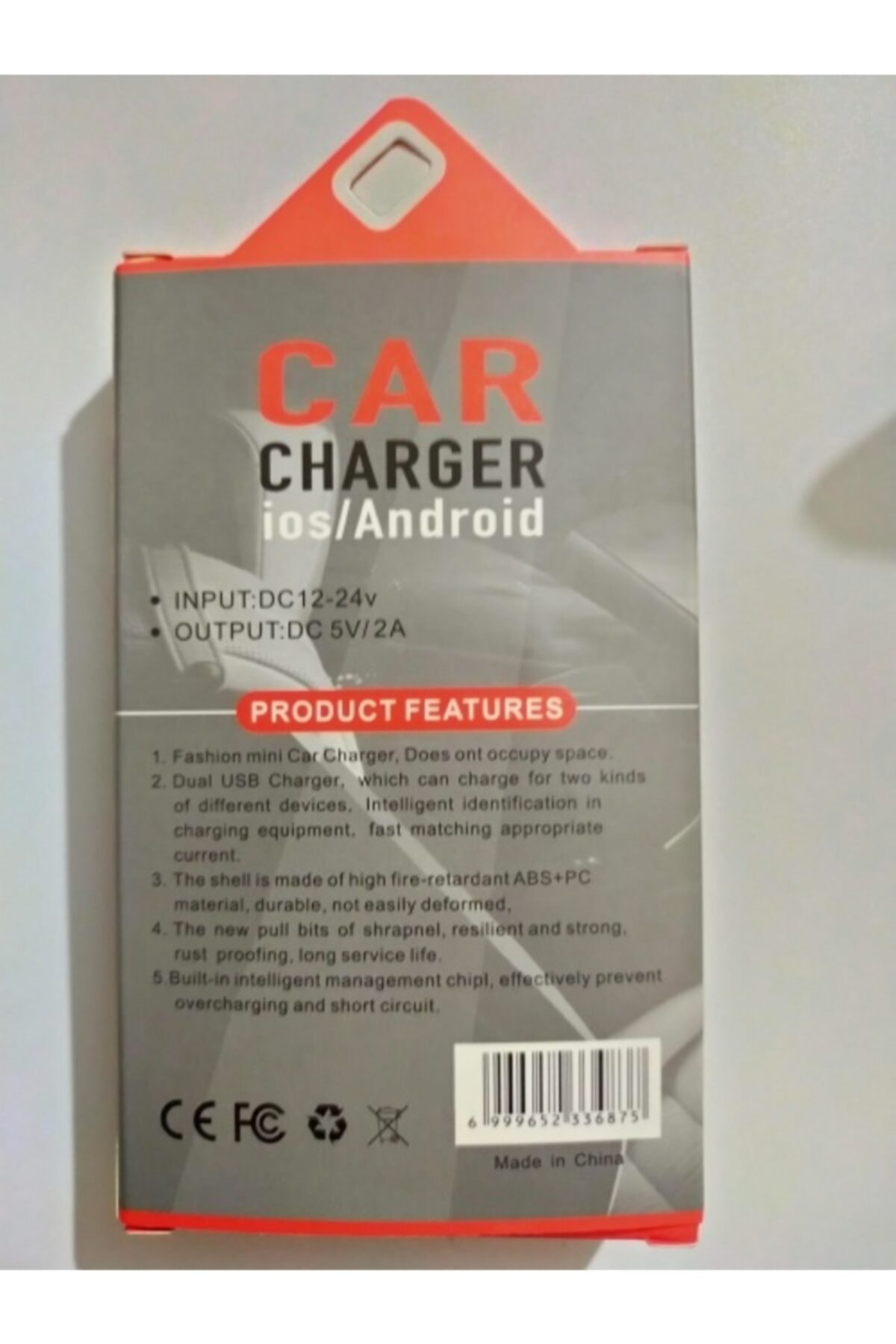 TRAVEL CHARGER Usb Car Charger 2
