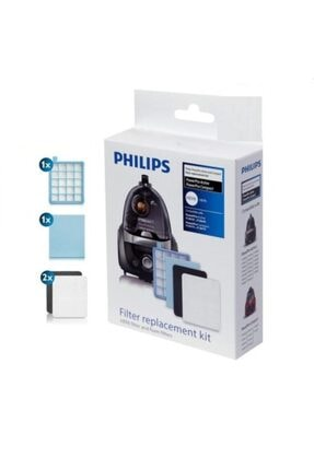 Philips Fc 8475 Power Pro Hepa Filtre Seti