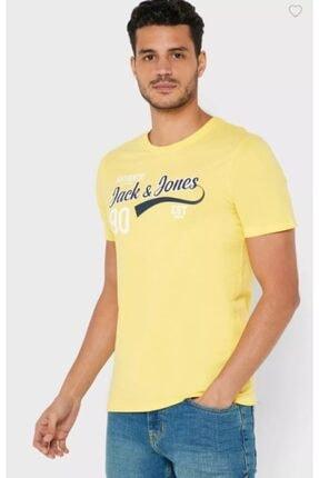 Jack & Jones 12164848 Erkek Jjelogo Tee Ss O-neck 2 Col Ss20 Noos Tops T-shirts 20y