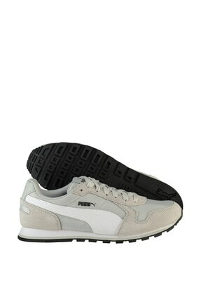 Puma Unisex Grı  Spor Ayakkabı - ST Runner NL Gray Violet- White