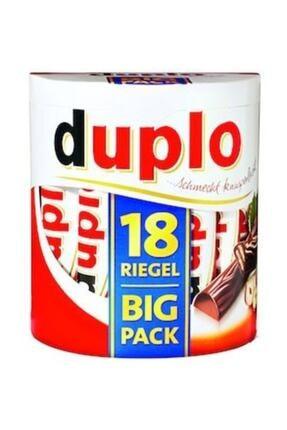 Kinder Ferrero Duplo Büyük Paket 327g ! ( 18 Adet Sütlü Çikolata )