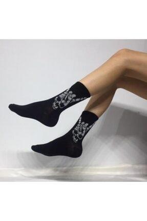 ADEL ÇORAP Unisex 'Rock' Soket (Uzun) Çorap