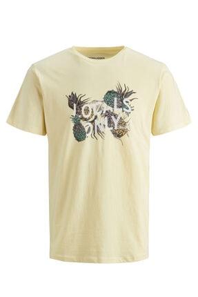 Jack & Jones Bisiklet Yaka T-shirt 12171691 Jorvırgıl