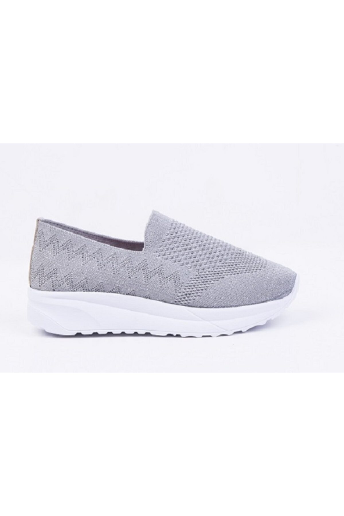 DR SOFT Kadın Gri Konfor ve Yürüyüş Ayakkabısı 2
