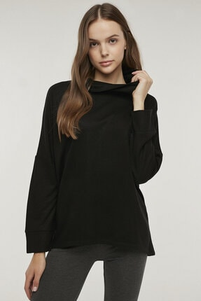 Penti Siyah Hot Tech Active Sweatshirt