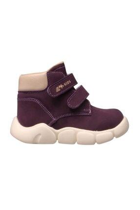 MP Çocuk Cırt Cırtlı Mor Bot Ayakkabı