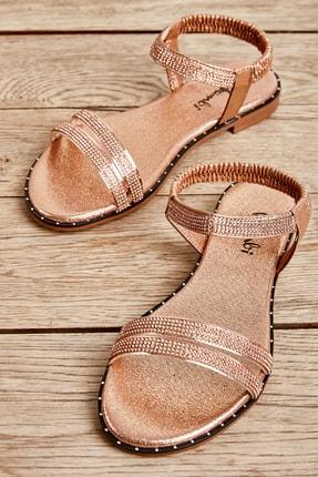 Bambi Rose Kadın Sandalet L0512700178