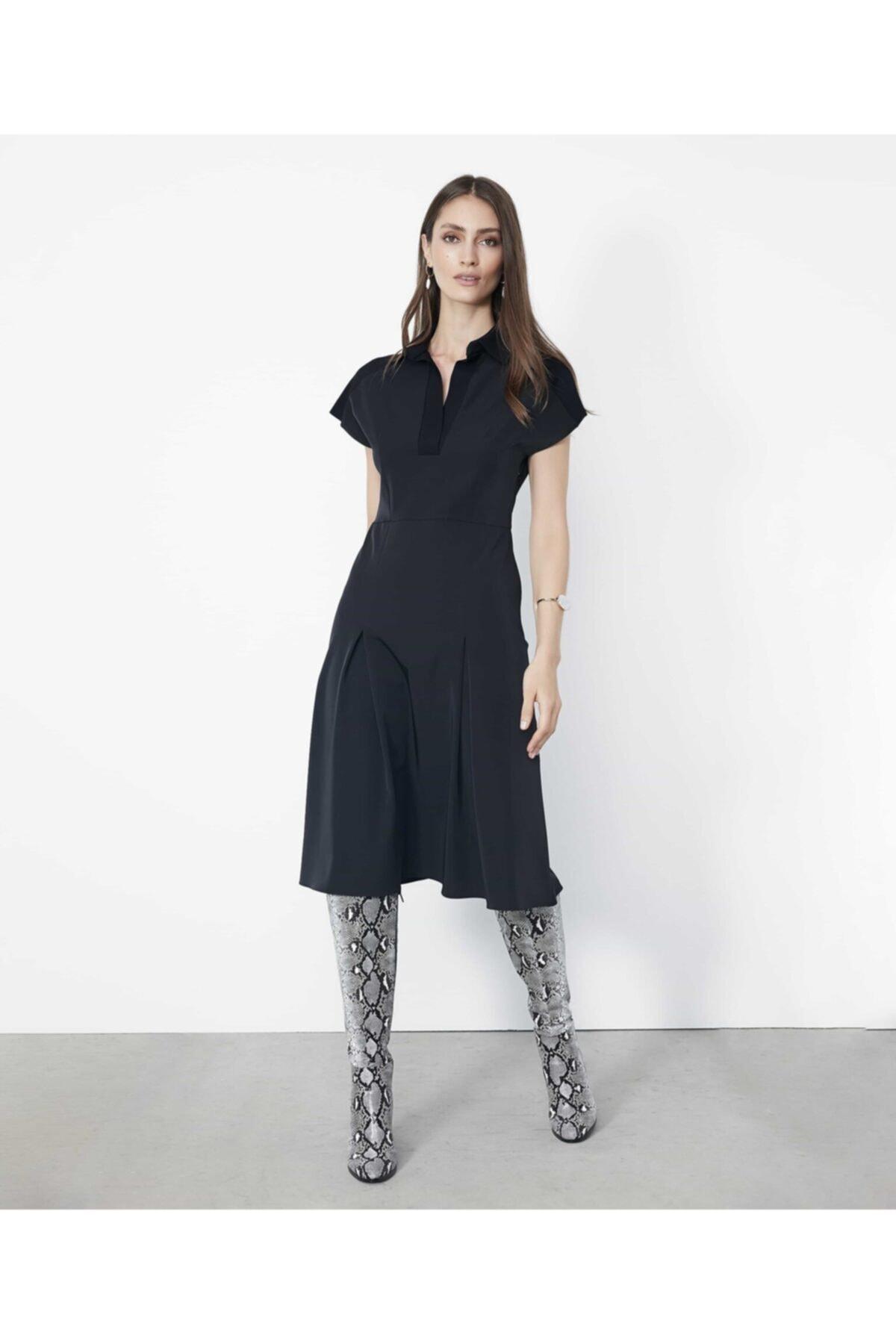 İpekyol Triko Mixli Elbise 1