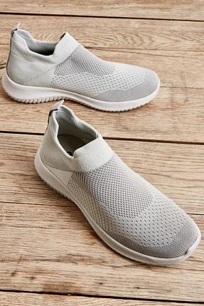 Bambi Gri Kadın Sneaker L0816016682
