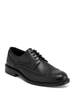 Tergan Siyah Deri Erkek Ayakkabı 55021a43
