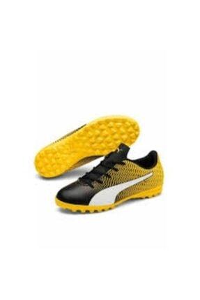 Puma Erkek Çocuk Sarı  Rapido Iı Tt Jr Halı Saha Spor Ayakkabı