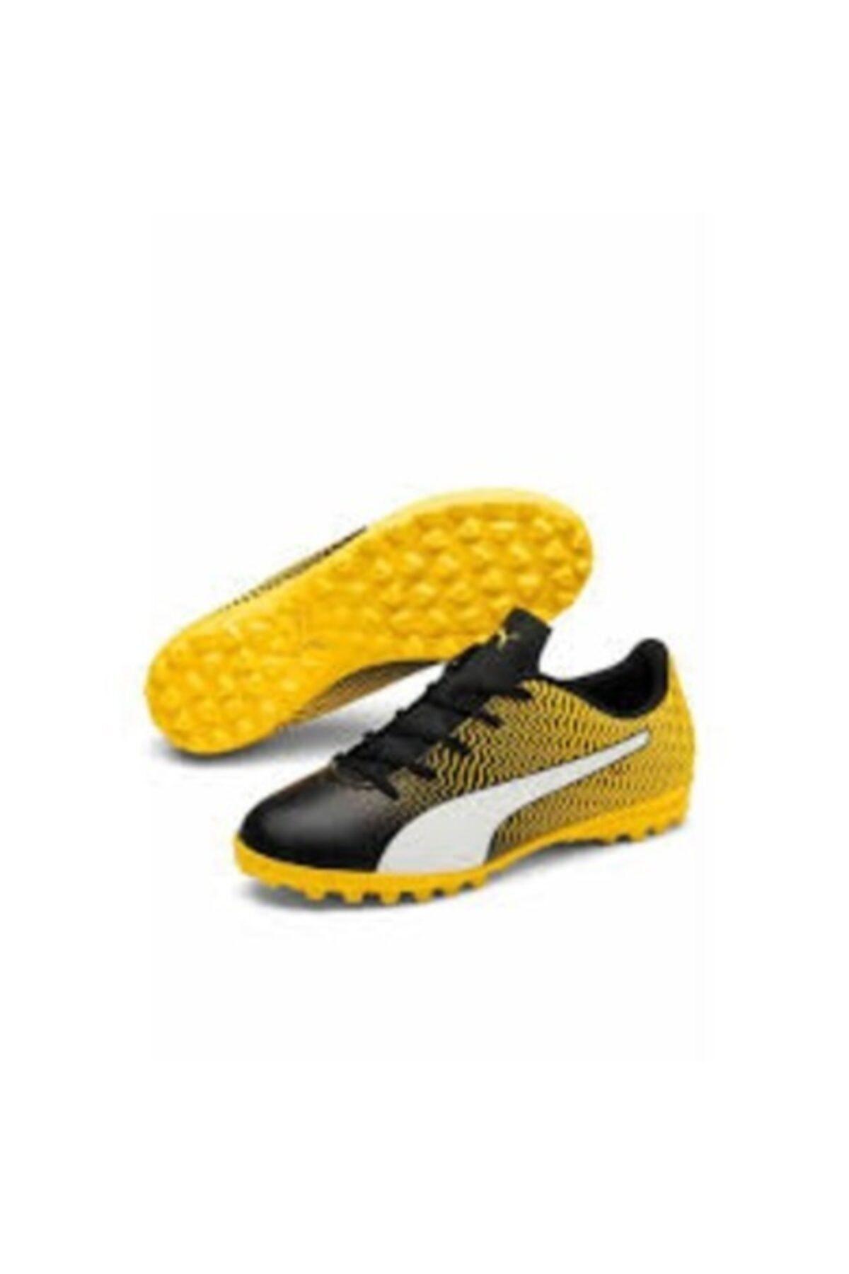 Puma Erkek Çocuk Sarı  Rapido Iı Tt Jr Halı Saha Spor Ayakkabı 1
