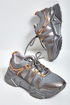 Bambi Platin Kadın Sneaker L0674204309