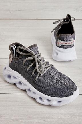 Bambi Grı Kadın Sneaker L0512437716